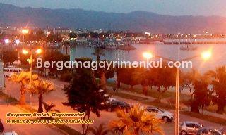 İzmir dikili salimbey de satılık deniz manzaralı bahçeli bahçe katı daire 4/1 1+1 45 m2.