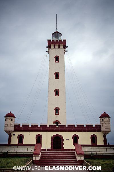 La Serena Lighthouse, Chile.