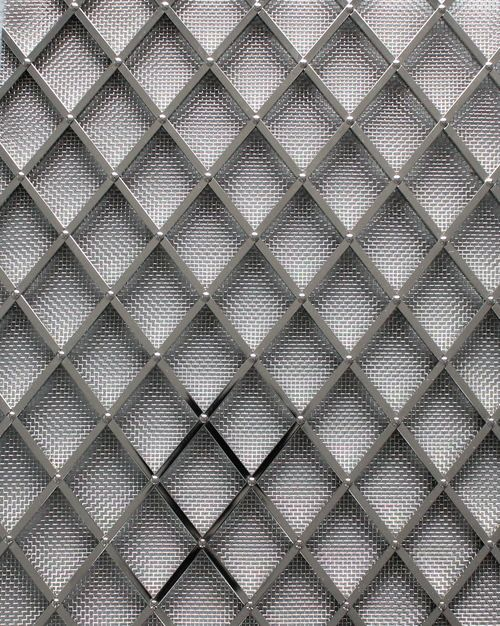 Awesome Wire Mesh Grilles for Cabinets