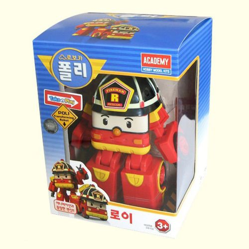 #Roy #RobocarPoli #Transformation #Robot Korean TV Animation Academy Gift Car #Toy
