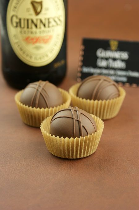 Chocolate Stout {Guinness} Cake Truffles. Perfect for Father's Day!