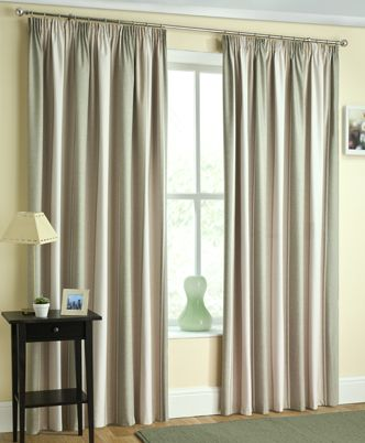 Twilight Ready Made Blackout Curtain In Green From £17.50