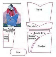 moldes de bolsos y carteras buscar con google