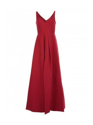 HALSTON HERITAGE Halston Heritage Long Cotton Blend Dress. #halstonheritage #cloth #dresses
