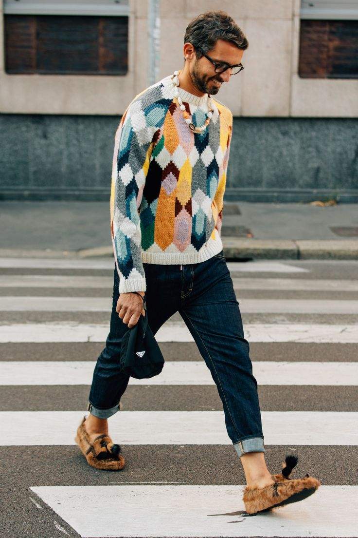 Street Style from The Spring 2018   Fashion Shows
