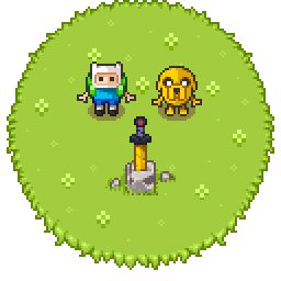 Title:	Adventure Time Tribute Pixel Artist:	johanvinet