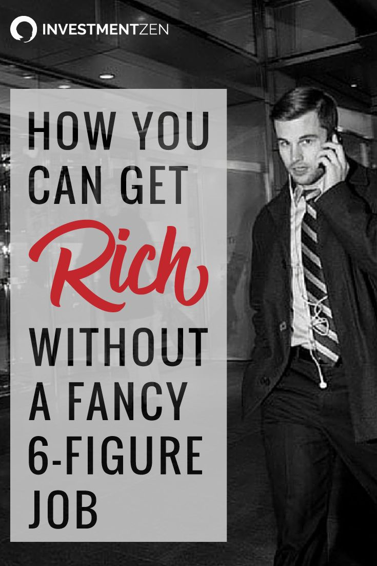 If you don't have a high paying job, how can you get rich? Holly has some great advice!!