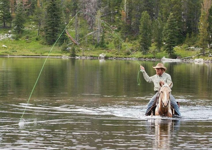 Fly fishing done right :)