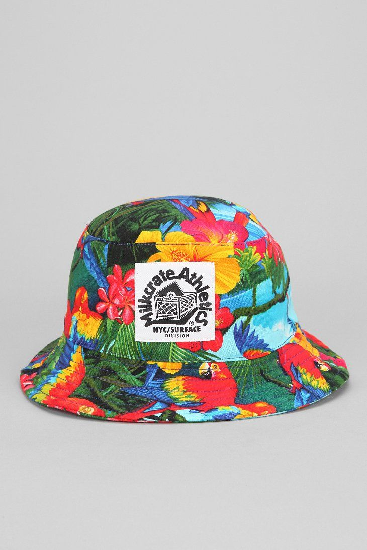 Milkcrate Athletics Tropical Bucket Hat