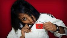 """Photo #6 - July 29 - Morocco -Judo 129x222  """"IL Y A SIX MOIS, PERSONNE N'AURAIT PARIÉ SUR MOI, SAUF MOI!""""  Rizlen Zouak est la première femme de l'histoire du judo à représenter le Maroc aux Jeux Olympiqu..."""