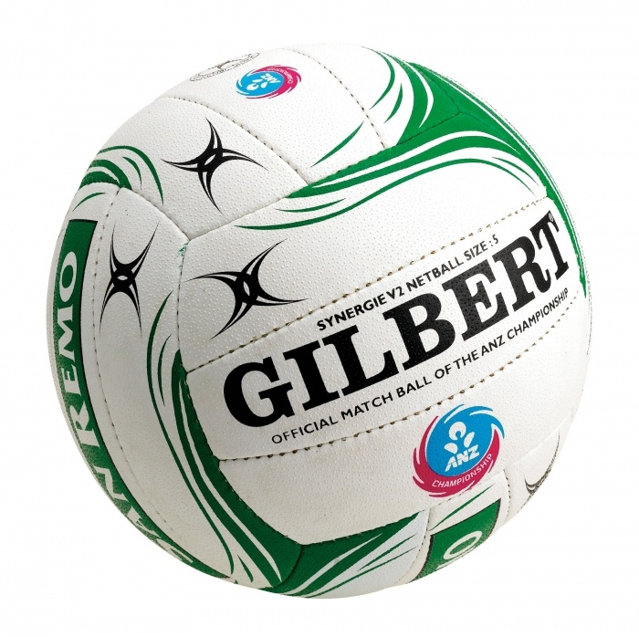 Gilbert are the official netball ball providers for Netball Australia and the ANZ Champs.