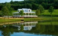 Frogtown is a 57-acre wine estate located at the foot of the Appalachian Mountains equal distance between Dahlonega and Cleveland, Georgia. Frogtown encompasses 40 acres of vineyards and a tri-level g