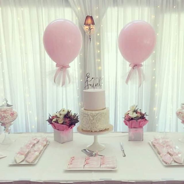 1000 ideas about tulle balloons on pinterest balloon for Balloon decoration for baby girl