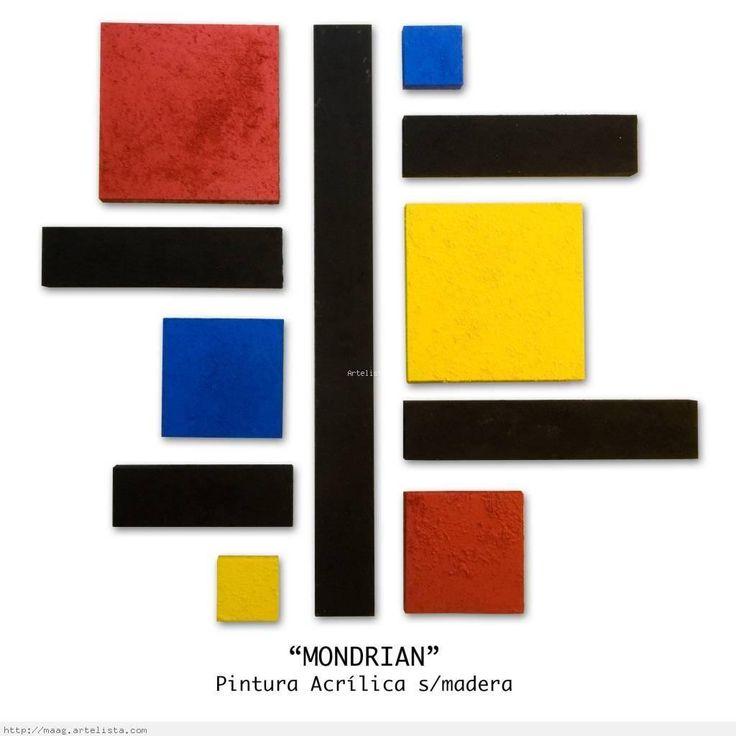 La Sexta Maravilla: Piet Mondrian.