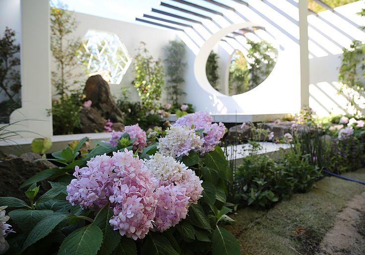 Contemporary Chinese Garden by Yue Yu |International Residential Garden Show|Flower Contest|WORLD FLOWER GARDEN SHOW 2015|HUIS TEN BOSCH
