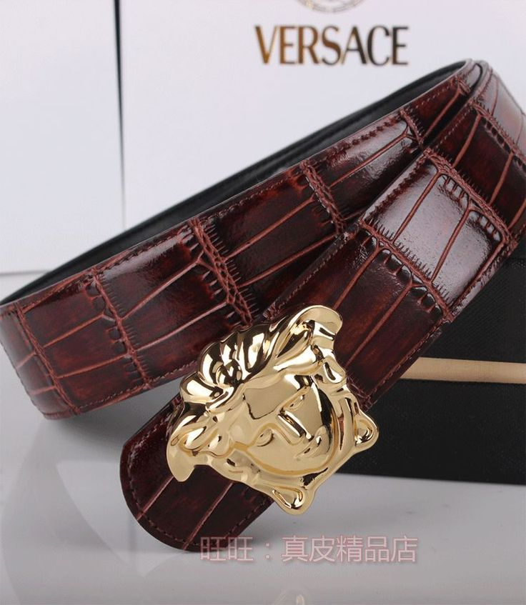 Versace belts package mail at half price:COW Leather Belt High-end luxury belt buckle men's belt versexpert waistband A99