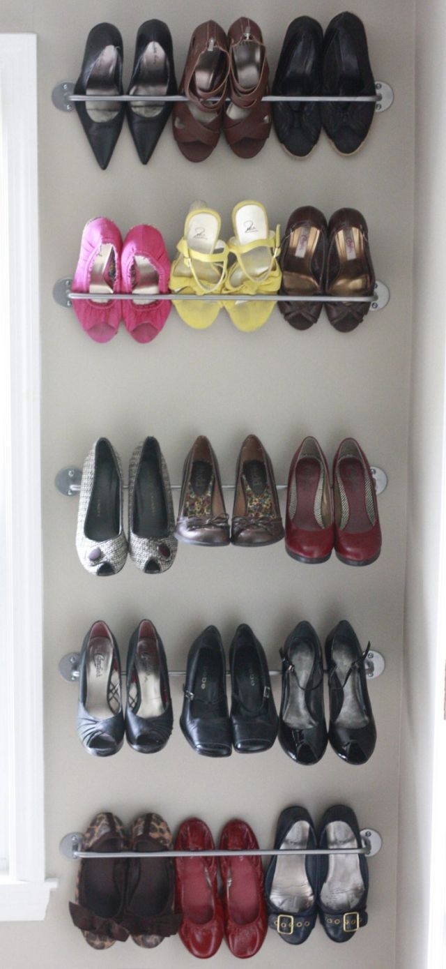 10 Smart Ways To Keep Shoes Tidy