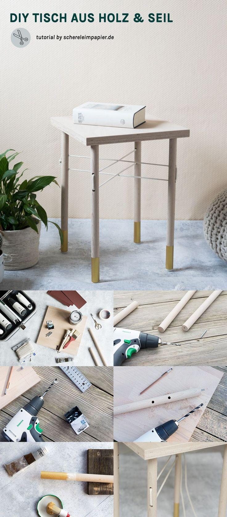 Fesselnd DIY Möbel Selber Bauen   DIY Wohnen   Beistelltisch Selber Bauen   Ton In  Ton Mit