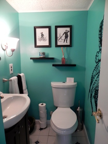 5043 best azul tiffany y turquesa images on pinterest for Cool bathroom themes