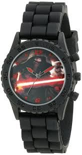 Star Wars Kids' SWM3053 Analog Display Quartz Black Watch