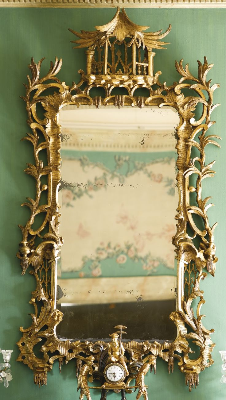 363 best louis xv rococo and style furniture images on for Brooke mirror