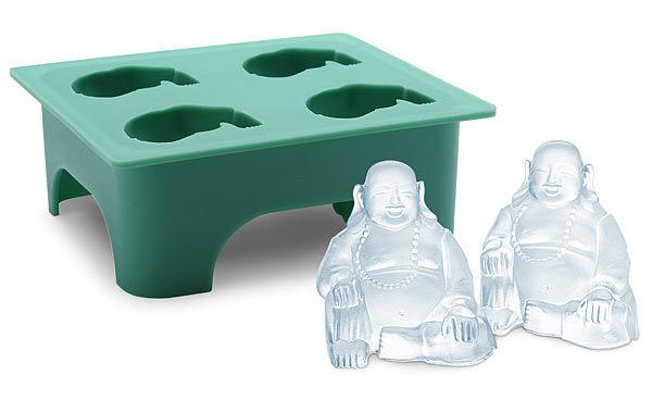 ThinkGeek :: Laughing Buddha Ice Mold