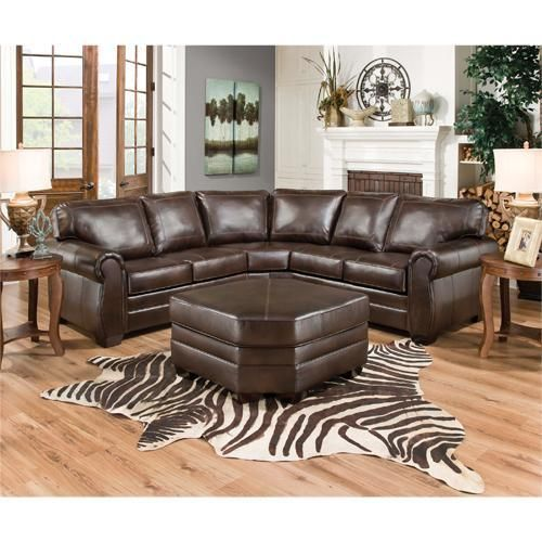 Simmons Manhattan Right Arm Facing Sectional Sofa With