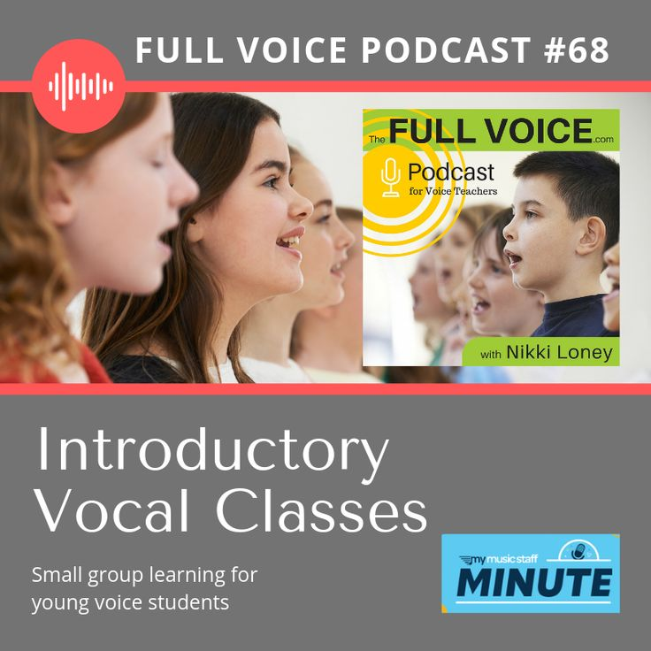 Episode 68. All about small group vocal classes. Great