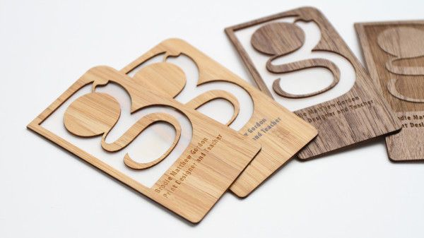 Grovemade's Sustainable Business Cards are a Great Alternative to Paper #bamboo #businesscards trendhunter.com