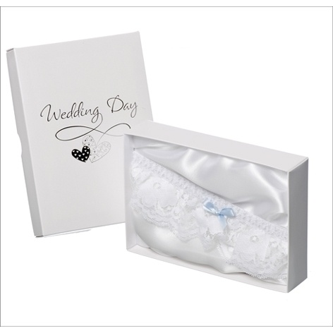 Something Blue Wedding Day Garter £8.99 - The Wedding Gift Company