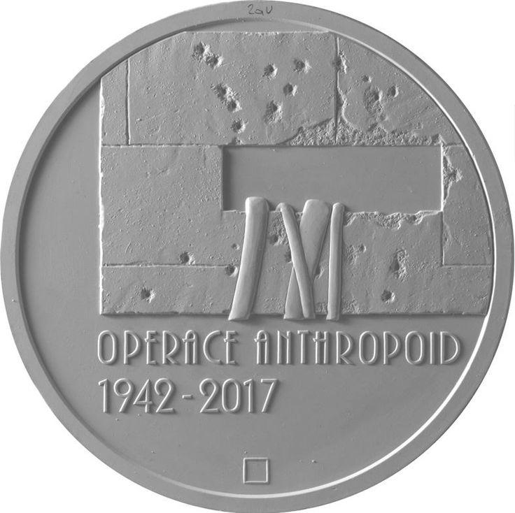 Pamětní mnice k 75.výročí operace Anhtropoid
