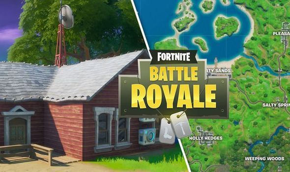 Fortnite Where To Find Them All Shadow Safe Houses Locations In 2020 Fortnite Dark House Shadow