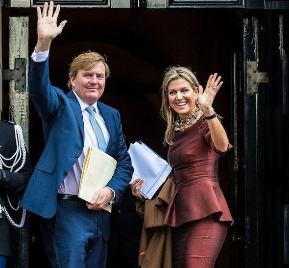 Queen Maxima, King Willem