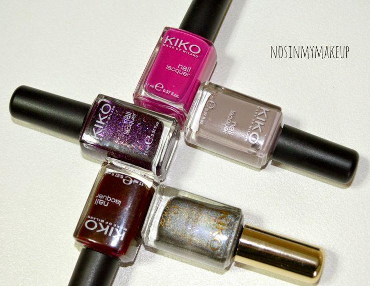 NOSINMYMAKEUP: Esmaltes de KIKO Cosmetics : mi opinión
