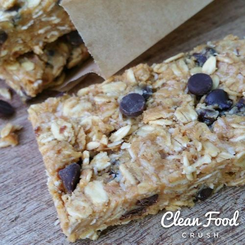 No-Bake Energy Bars https://cleanfoodcrush.com/No-Bake-Energy-Bars