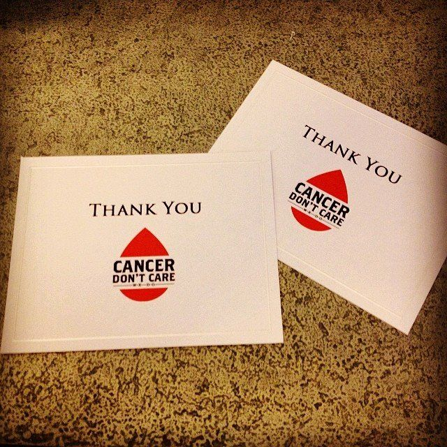 Donations in, thank you cards out! Join the fight against cancer, benefiting the Leukemia & Lymphoma Society.  Donations of $100 or more from now - Thu, 4/10 @ 5 PM EST are matched dollar for dollar.