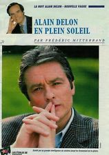 Alain Delon par Frédéric Mitterrand / 1996 / 2p. / Coupure de presse, Clipping
