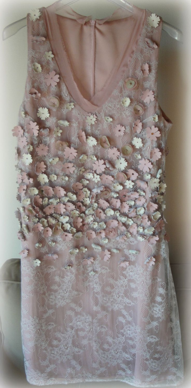 Romantic flower dress. Haute Couture by Alena Slamjakova