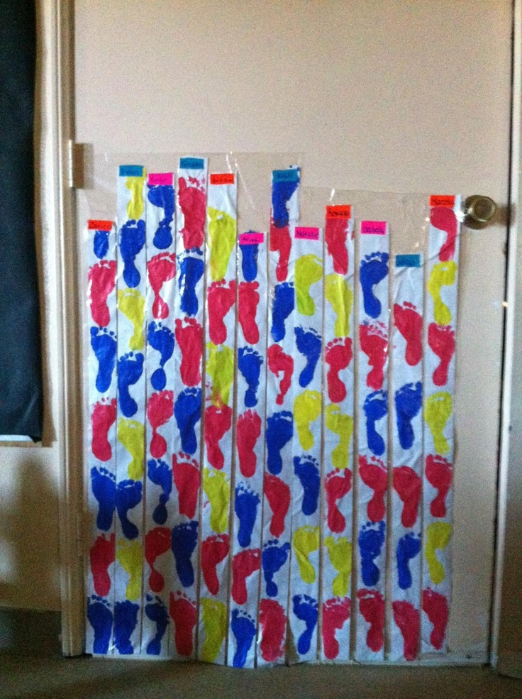 Paper Growth Chart Craft