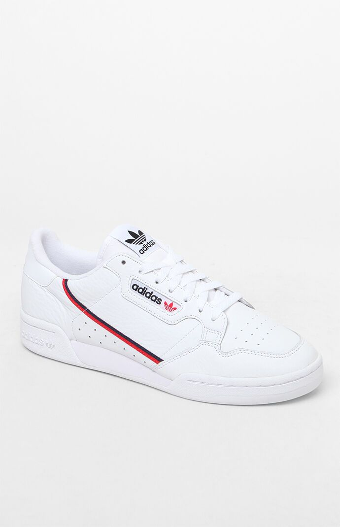 Adidas white shoes, White leather shoes