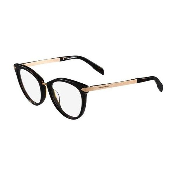 Karl Lagerfeld KL 915 013 Eyeglasses (505 RON) ❤ liked on Polyvore featuring accessories, eyewear, eyeglasses, havana, lens glasses, karl lagerfeld eyeglasses, karl lagerfeld eyewear, karl lagerfeld and acetate glasses