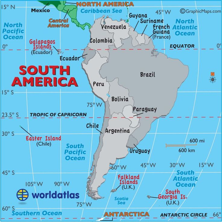 The 25 best South america map ideas on Pinterest  World Country