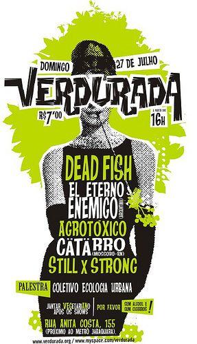 cartaz verdurada by antitudo, via Flickr
