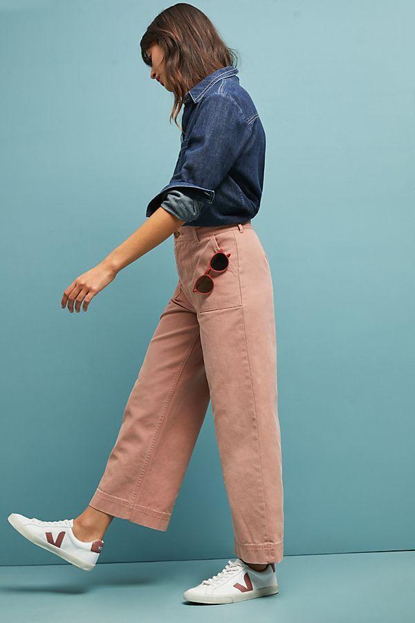 47b8de91d507 Frye Nadia High-Rise Wide-Leg Jeans in 2018