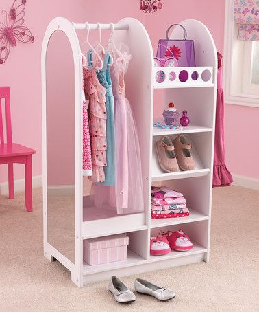 Take a look at this Let's Play Dress Up Station by KidKraft on #zulily today! @Barbara Baker I know a little girl that would LOVE this for her birthday.  :)