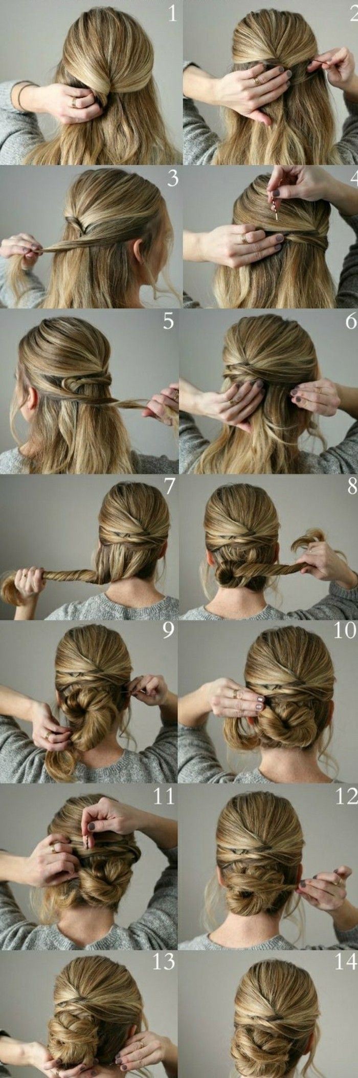 ▷ 1001+ ideas on how to make effective updos yourself