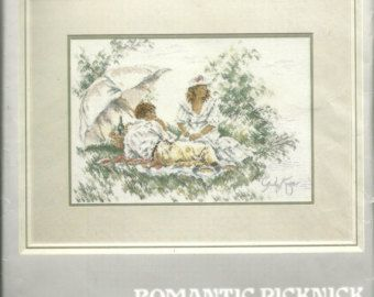 Lanarte Cross Stitch Kit # 35239 (Romantic Picknick)
