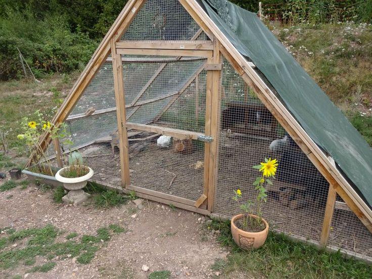 Pyramidengehege Fur Kaninchen Kaninchen Gehege Kaninchengehege