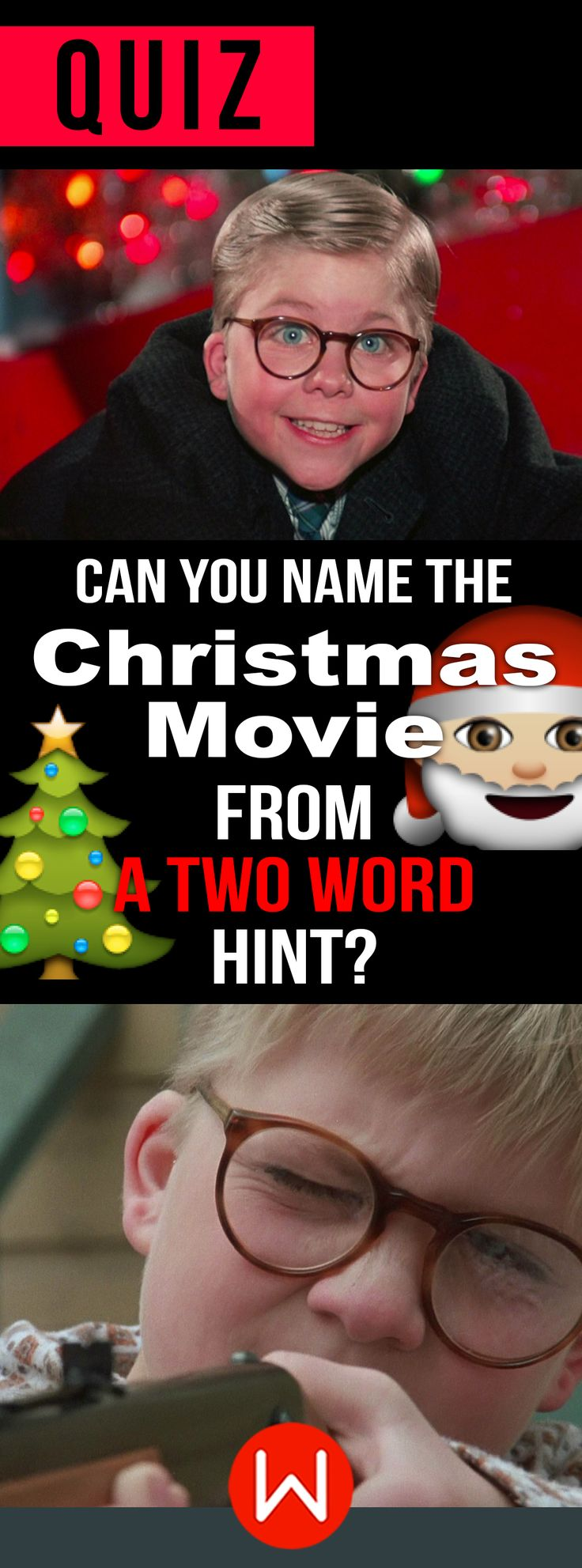 Think you love Christmas movies? Then step right up! Xmas movie trivia quiz. Christmas competition. Let's see who really knows all these Christmas movies! Xmas test. Holiday movies trivia.