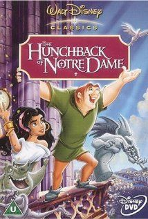 Disney's The Hunchback of Notre Dame ~ A deformed bellringer must assert his independence from a vicious government minister in order to help his friend, a gypsy dancing girl.